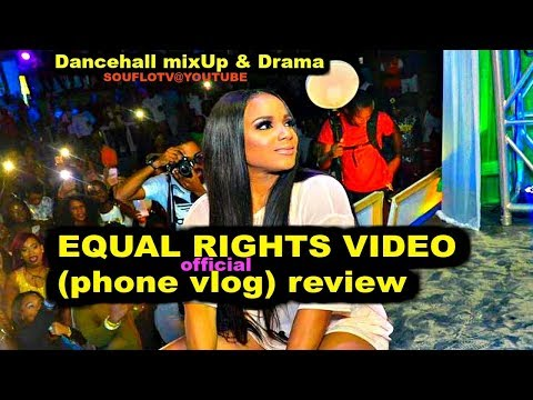 Ishawna Equal Rights Video Review & We go Live (Phone Vlog)