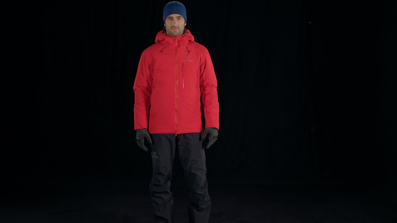 03abb8d7d5a Arc'teryx - Men's Alpha IS Jacket - Magma - YouTube