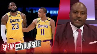 LeBron should be upset with Avery Bradley, talks Jokic COVID-19 — Wiley   NBA   SPEAK FOR YOURSELF