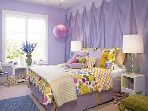 Colorful combination for bedroom Wall ideas - YouTube