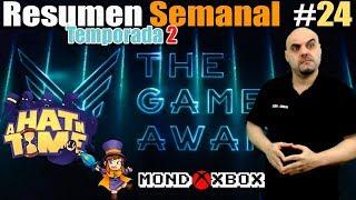 Resumen Semanal T2#24  The Game Awards, A hat in time, noticias |MondoXbox