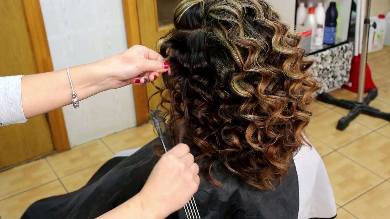 Как завить волосы плойкой способы и фото
