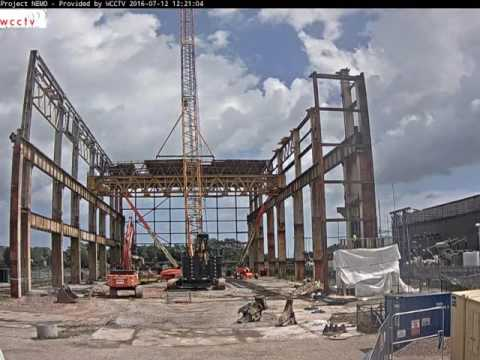 Time Lapse Nemo Link Richborough Turbine Hall Deconstruction