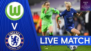 VfL Wolfsburg v Chelsea | UEFA Champions League | Quarter-Finals | 2nd Leg | Live Match