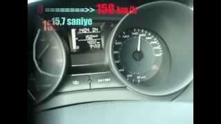 2012 Seat Ibiza FR 150 hp acceleration test drive