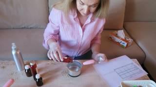 Делаем противовоспалительный крем для комбинированной или жирной кожи, мастер-класс