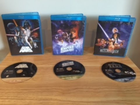 GET STAR WARS DESPECIALIZED ON BLU RAY UNALTERED ORIGINAL TRILOGY