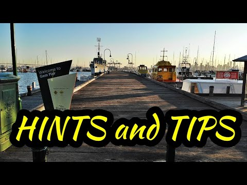 A Look At Gem Pier | Williamstown | Victoria Australia | With Fishing Hints And Tips