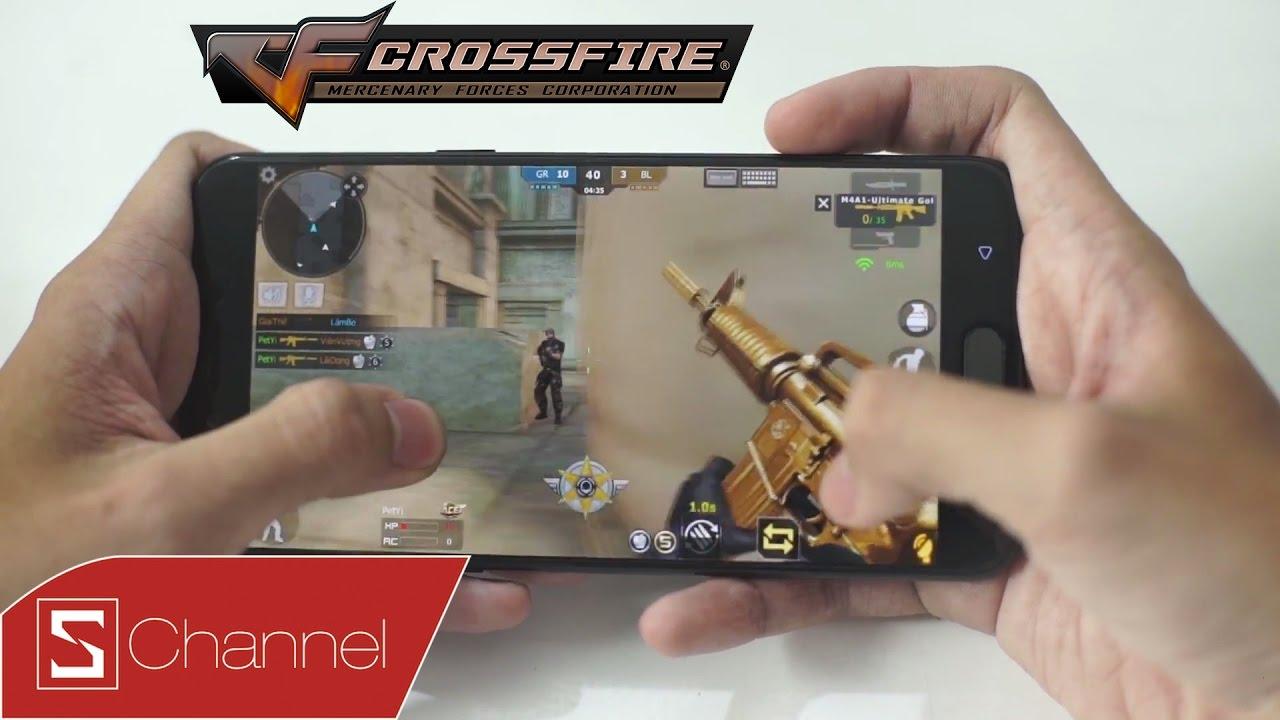 Schannel – CF Legends – Đột Kích Mobile trên Oppo F3 Plus: Vũ khí mạnh mẽ để đạt thành tích đỉnh cao