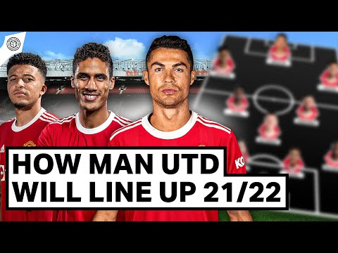 How Manchester United Will Line Up In The 2021/22 Season!