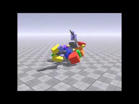 3D Evolution Simulation: Dynamic Evolution- Generation 1