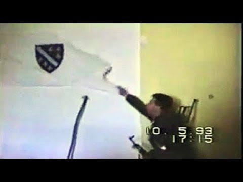 Napad HVO-a na komandu 4.korpusa tzv.ARBiH - Mostar '93 [eng sub]
