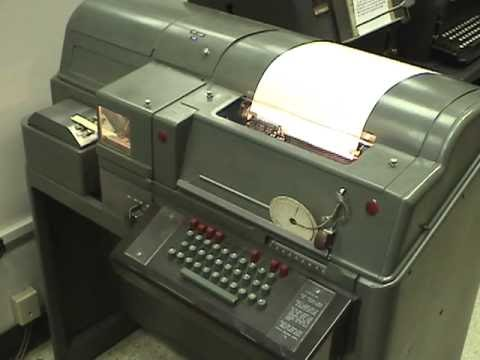 TELETYPE MODEL 28 ASR COPYING ITTY - MUSEUM OF COMMUNICATIONS - SEATTLE