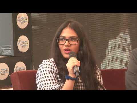 Ravi and Anusha Subramanian at Kolkata Literary Meet 2018