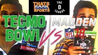 Tecmo Bowl vs Madden 18