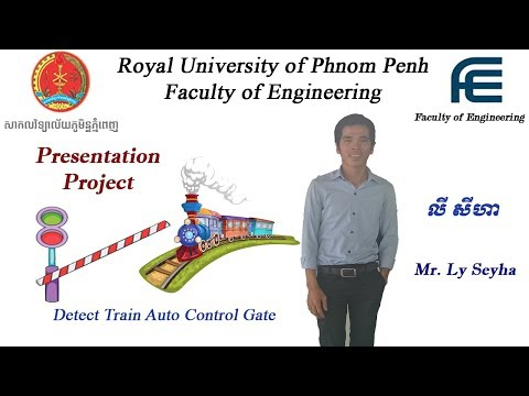 Royal University of Phnom Penh - Presentation Detect Auto Control Gain