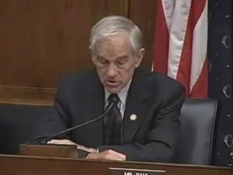Ron Paul Opening Statement at the House Financial Services Committee 7.16.2009