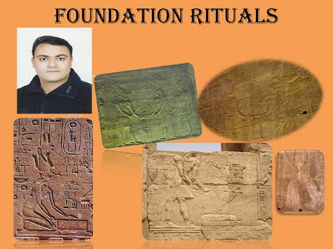 The Foundation Ceremony For Ancient Egyptian Religious Buildings part 1