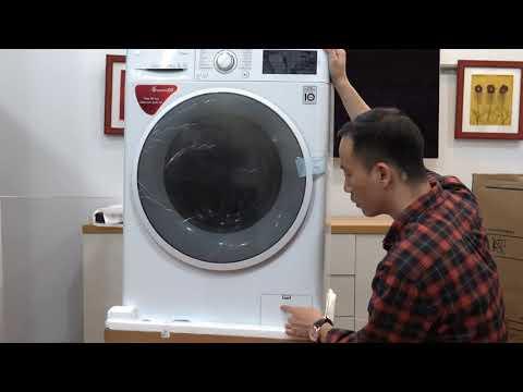 Giới thiệu & Mở hộp Máy giặt LG 8kg lồng ngang inverter FC1408S4W2 - Điện Máy Mạnh Nguyễn
