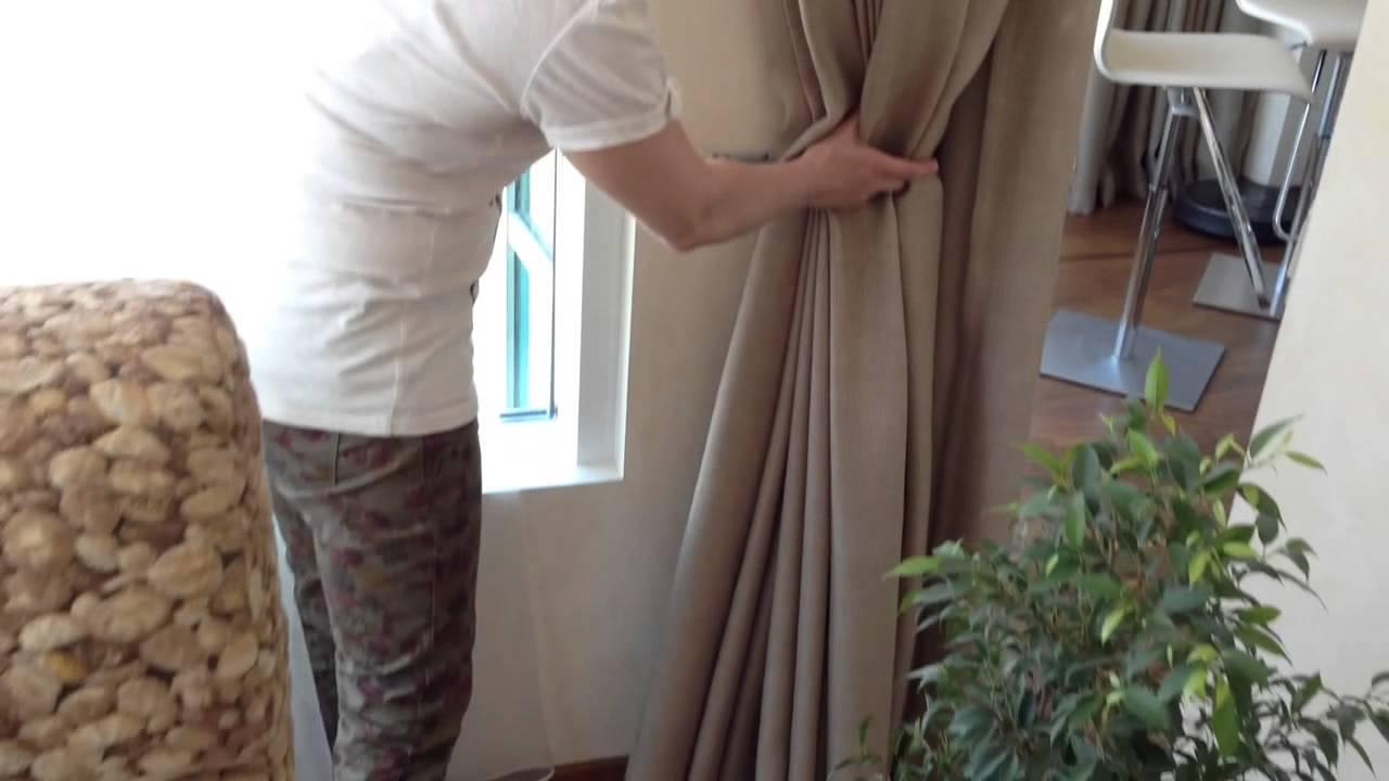 Занавес и шторы для детского сада - YouTube