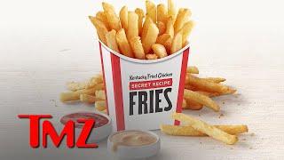 KFC Is Adding Delicious SECRET Recipe Fries To The Menu  TMZ