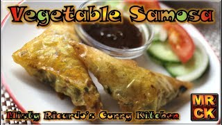 Vegetable Samosa (Delicious Crunchy Snacks of Wonder)