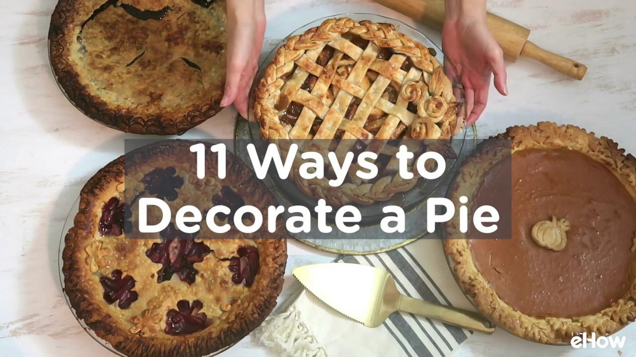 Decorative Pie Crusts Tutorial