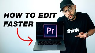 How to EDIT Videos FASTER! (Premiere Pro Tips)