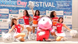 STAR JETS 『Water Day FESTIVAL』 2015/08/02 【千葉県】イオンモール幕張新都心