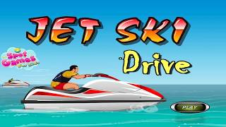 Jet Ski Drive water sport video Gameplay | Spot games for Kids