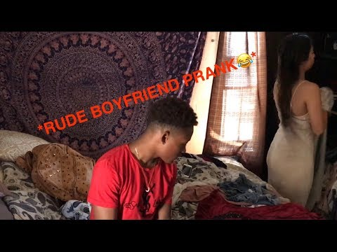 Rude Boyfriend Prank! (Starts Crying)