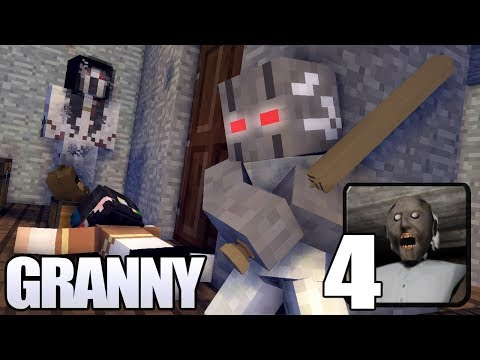 Granny horror game survival Part 4 (Ending) | Minecraft Animation