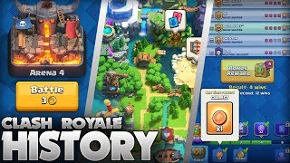 The History of Clash Royale (2016 - 2019) 3 Year Anniversary Special! (Every Update Ever)