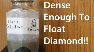 Making Clerici's Solution; The Heaviest Water Based Liquid? by : Cody'sLab