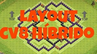 Layout Hibrido CV 8