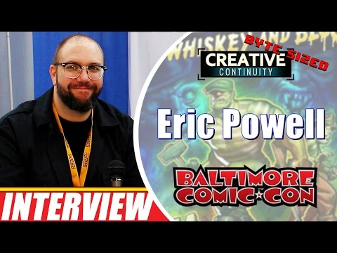 Eric Powell: comic creator; Goon, Big Trouble in Little China - Byte Sized Creative Continuity