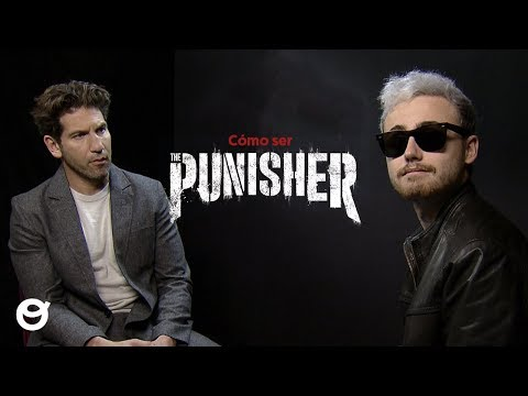 Jon Bernthal teaches me how to be The Punisher