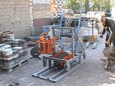 Concrete Block Making Machine Blox 2ts Diy Do It