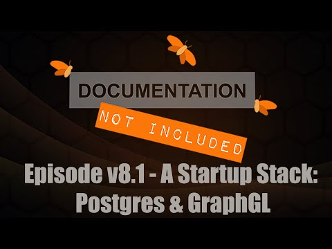 Episode v8.1: A Startup Stack - Postgres & GraphQL with Gordon Johnston