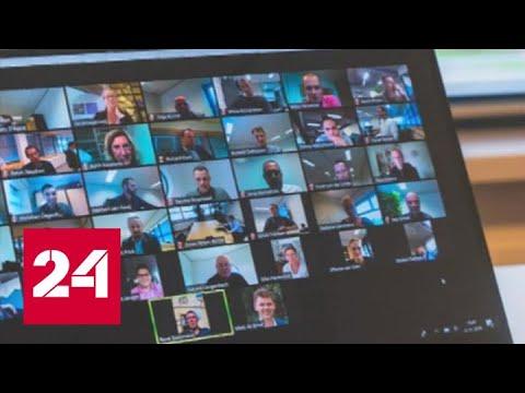 Zoom попался на сливе данных пользователей - Россия 24