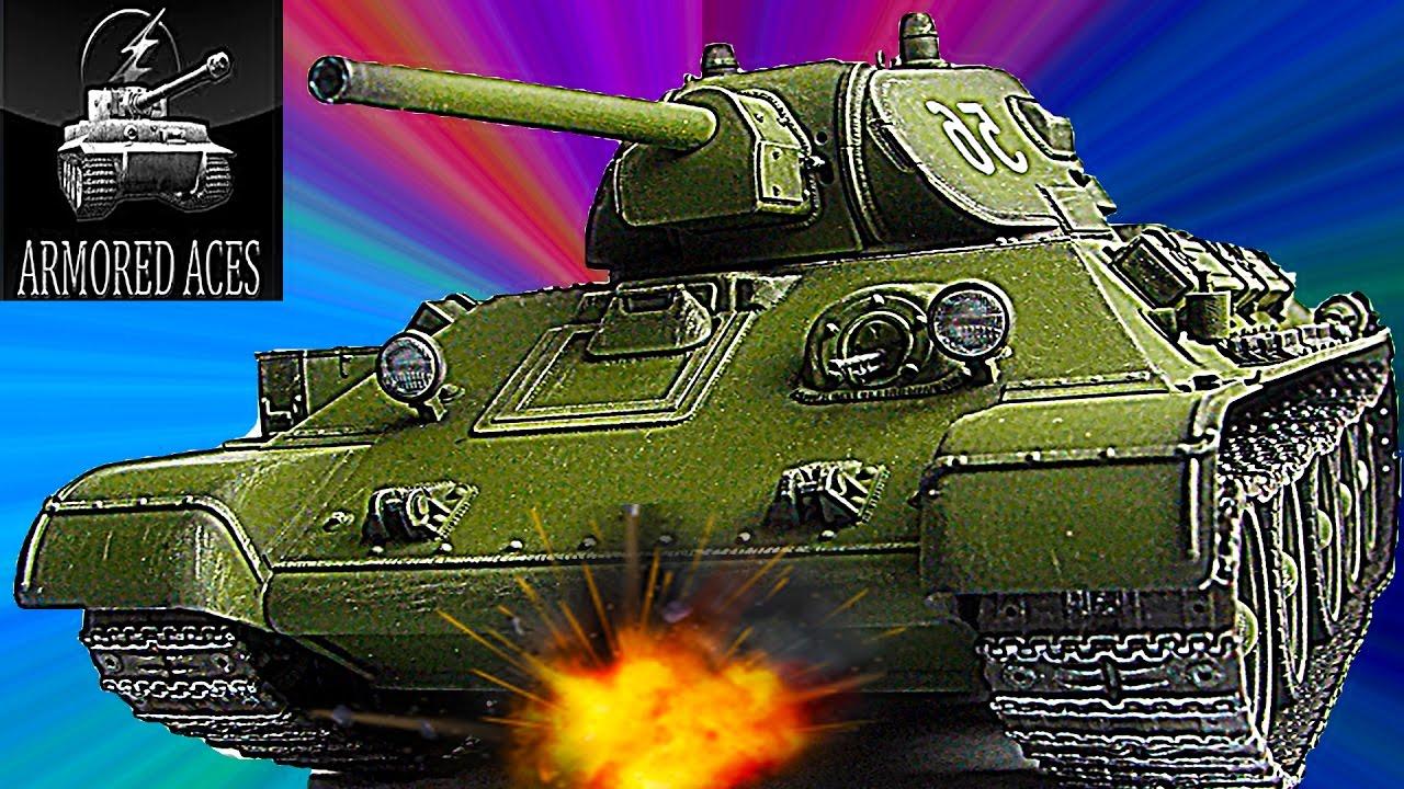 Мульт танки Armored aces #5 онлайн игра Подбиваю 6 танков ...