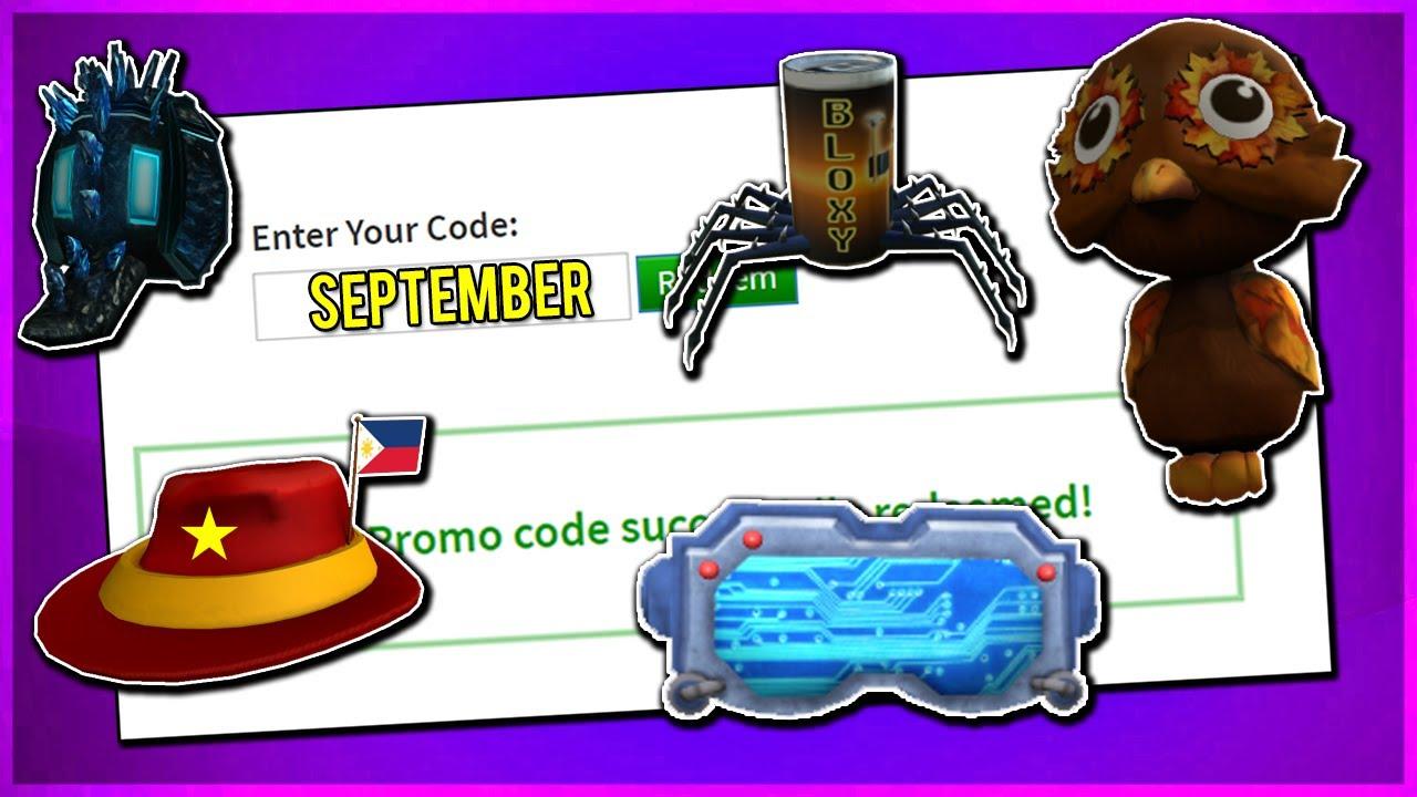 Codes For September 2019 Roblox September All Working Promo Codes On Roblox 2019 Make Roblox Promo Code Account Not Expired Youtube
