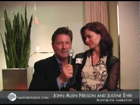 Tantor Studios: Narrators John Allen Nelson and Justine Eyre
