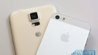 Galaxy S5 vs iPhone 5s: Which Should I Buy?(See how the Samsung Galaxy S5 and the iPhone 5s compare so you know what to look for before buying a new phone., 2014-04-27T13:00:06.000Z)