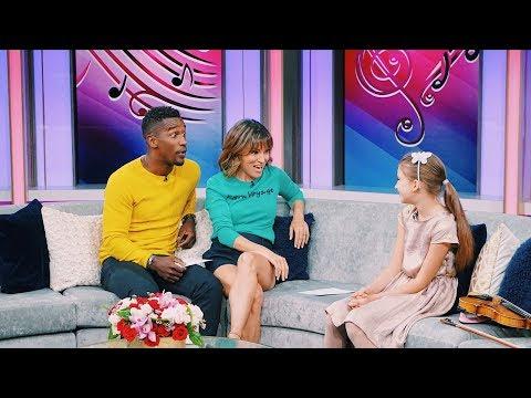 Karolina Protsenko Violinist on TV Show -  - Lindsey Stirling's Message  - AGT
