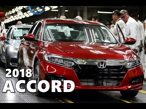 2018 Honda Accord Production Factory in Ohio