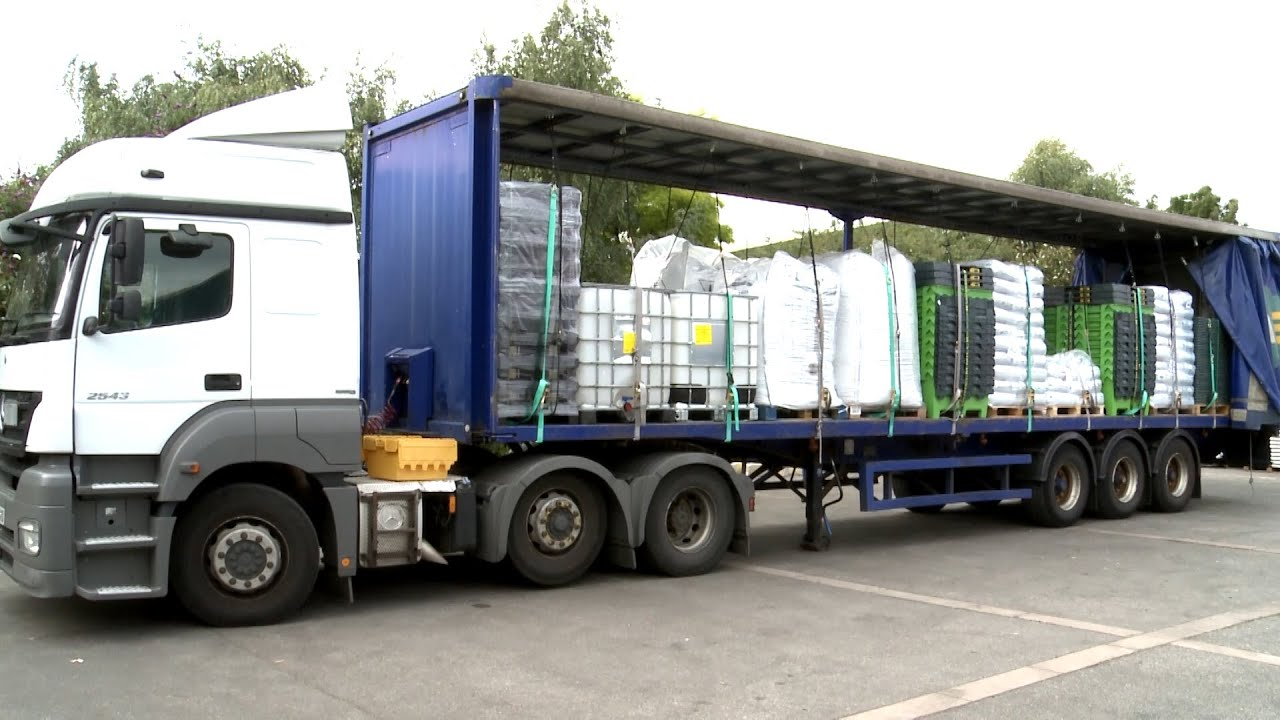Load Max Trailers >> Guardian Load Restraint System - YouTube
