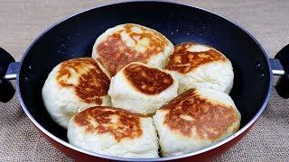 কম সময়ে ফ্রাইপেন এ নরম পাউরুটি তৈরি(ডিম ছাড়া)//Eggless Bread Recipe Bangla/Bun Recipe Without Eggs