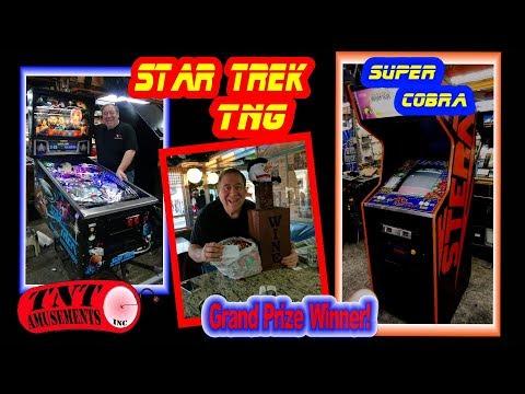 #1352 Stern SUPER COBRA Arcade Video Game-Williams STTNG & GETAWAY Pinball TNT Amusements