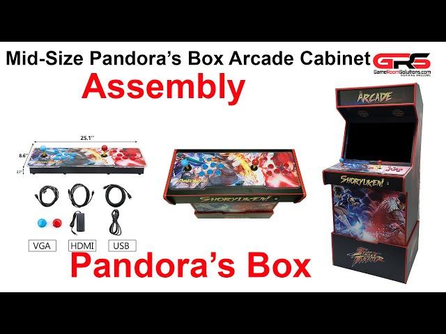 MidSize 27 Pandora's Box Arcade Cabinet Kit - Assembly